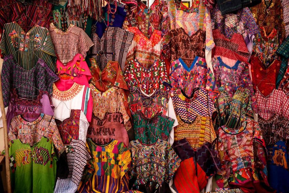 guatemalan huipil market by paula harding for thread caravan