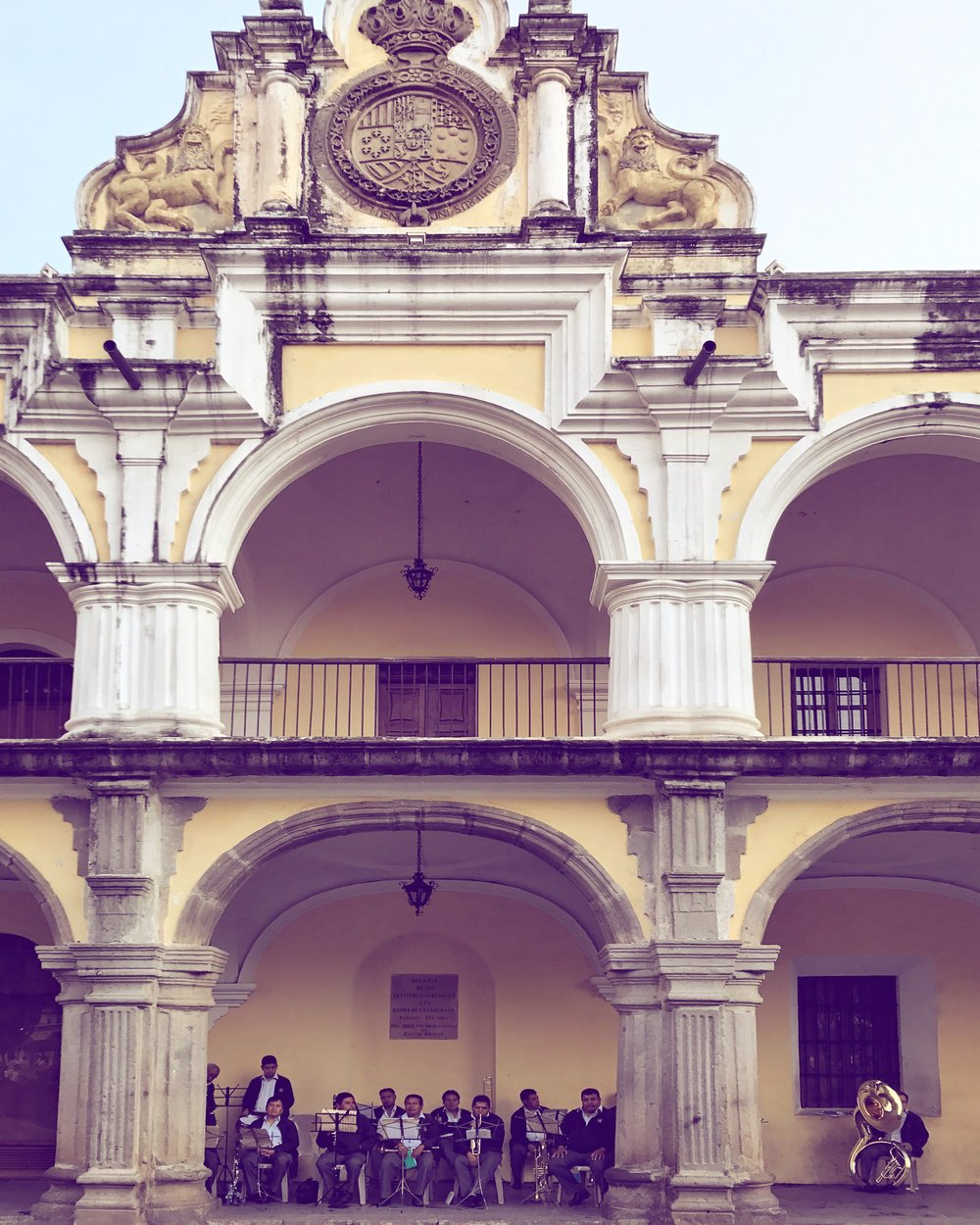 Antigua Guatemala downtown building by Luna Zorro Thread Caravan.jpg