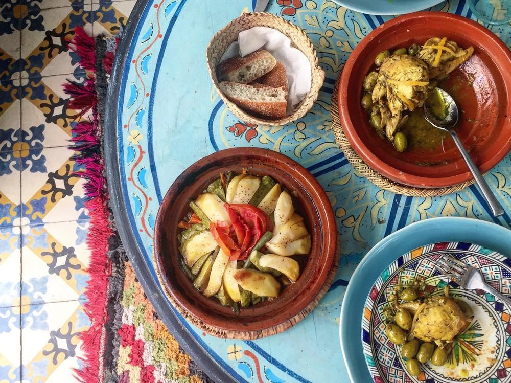 moroccan tajine lunch marrakech riad be by thread caravan.jpg