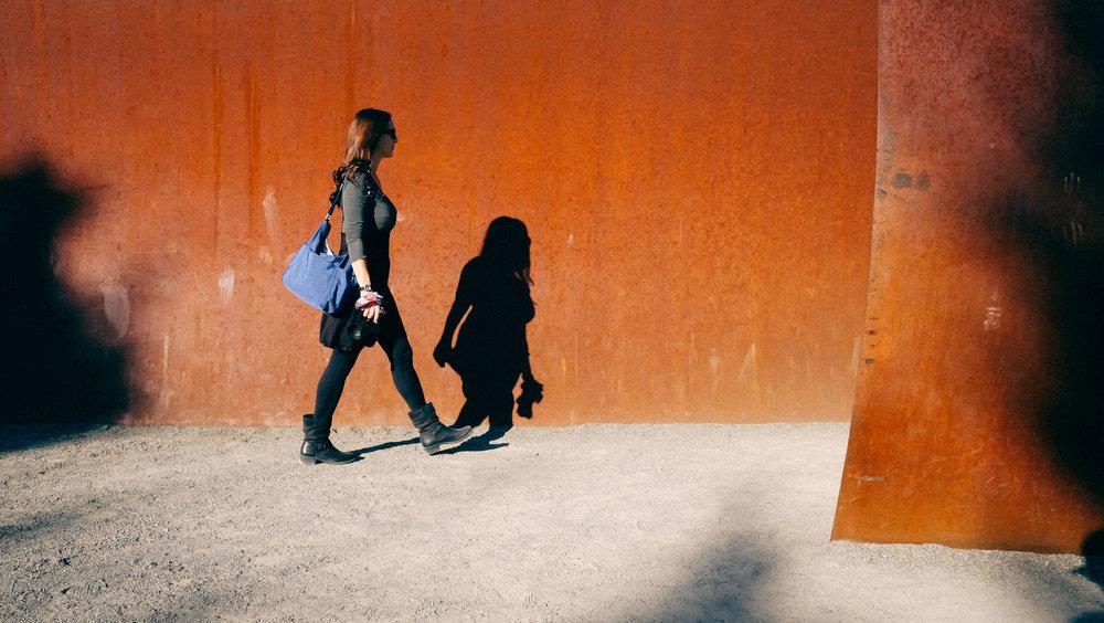 Hope walking in Seattle. Taken with Fujifilm X70 @35mm
