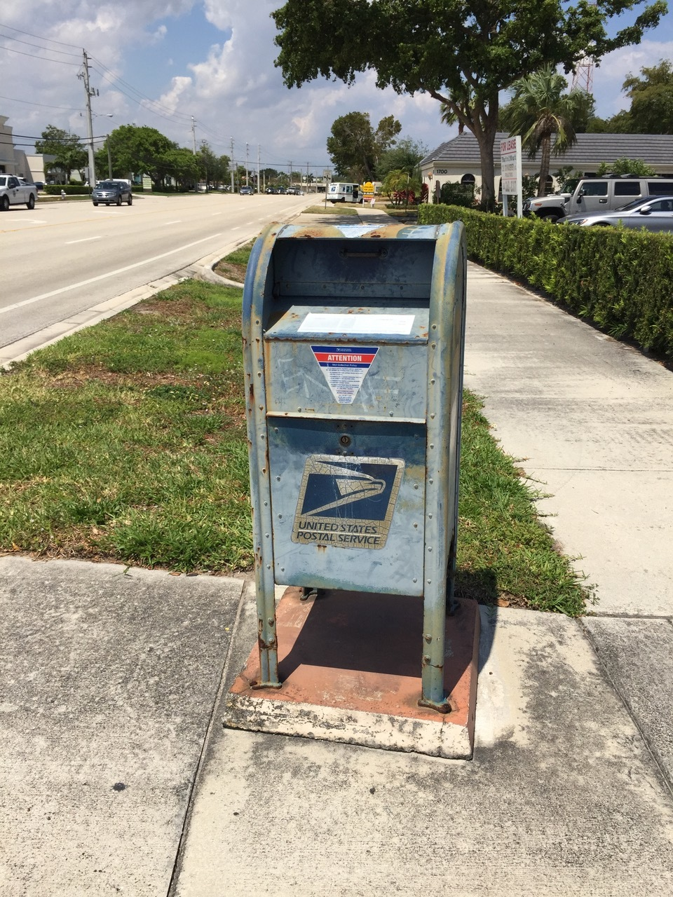 Is this to be our new Boca raton post office?