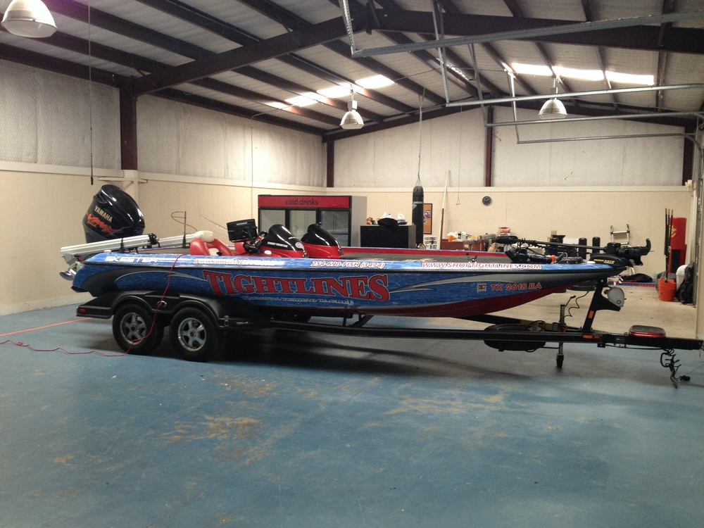 Bass Boat - Full Wrap