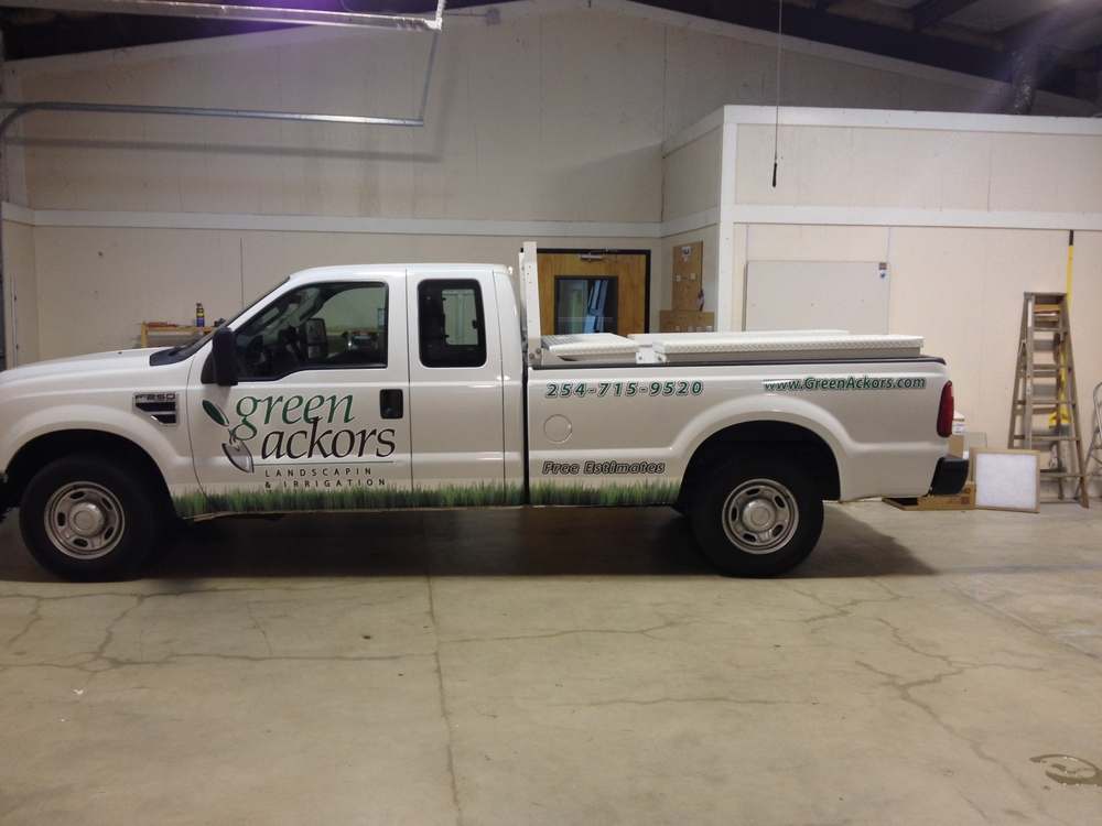 Ford F250 - Partial Wrap