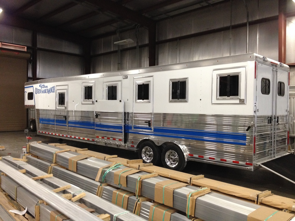 Horse Trailer - Partial Wrap