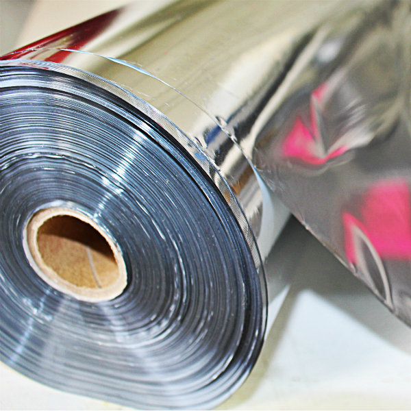 Roll of silver transfer foil. Custom t shirt printing options. T shirts in Knoxville, TN.
