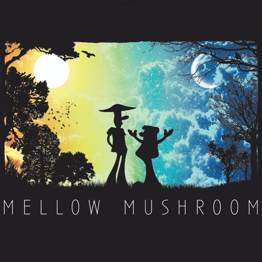 "Mellow Mushroom's ""This Mortal Fungus"" designed for the House of Shroom."
