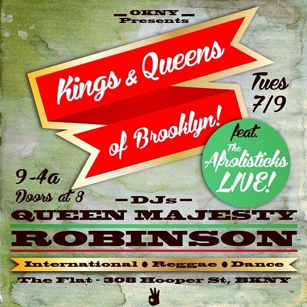 Promo for Kings & Queens of BK event