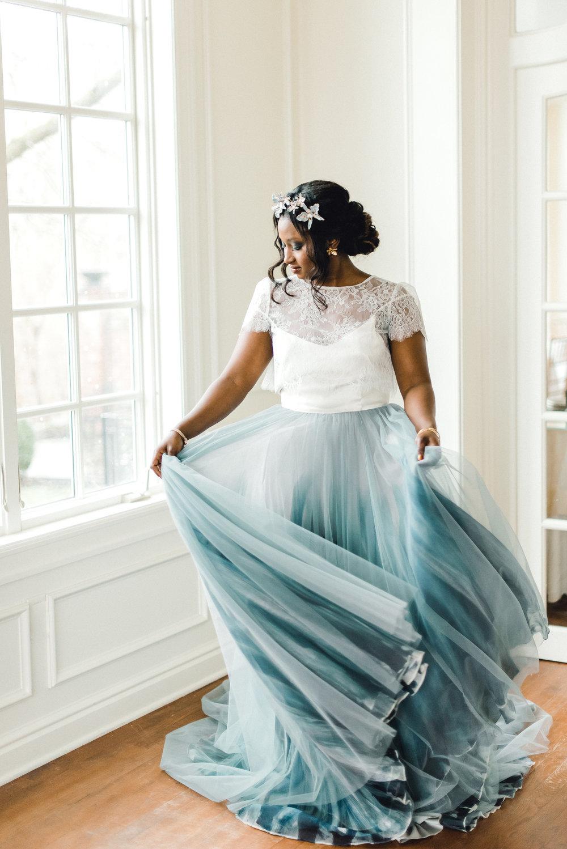 Black bride in blue gown.jpg