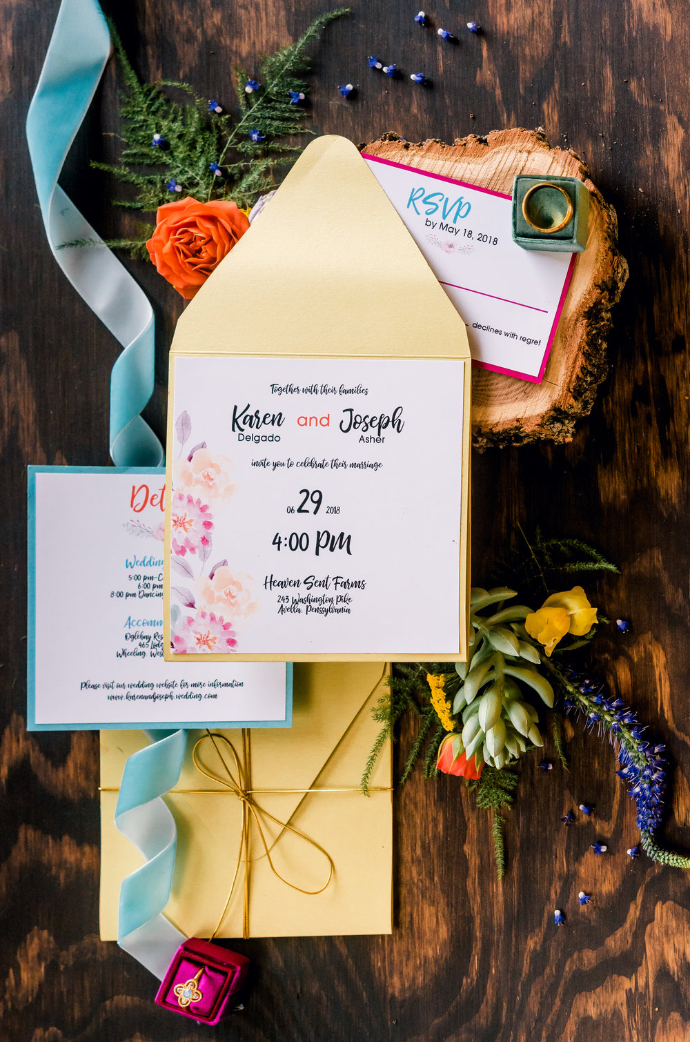 K. Flowers Designs Pocket Invitations.jpg