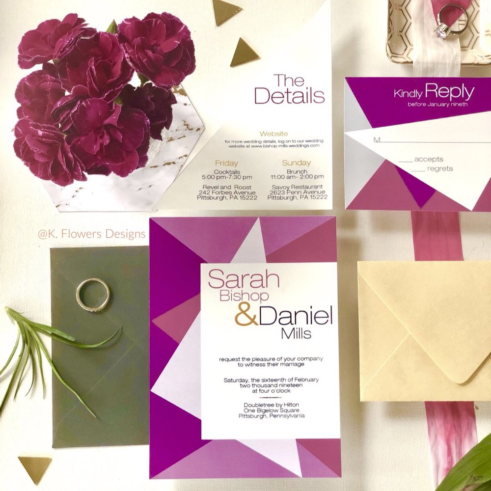 Modern-Geometric-Design-Wedding-Invitation-by-K-Flowers-Designs