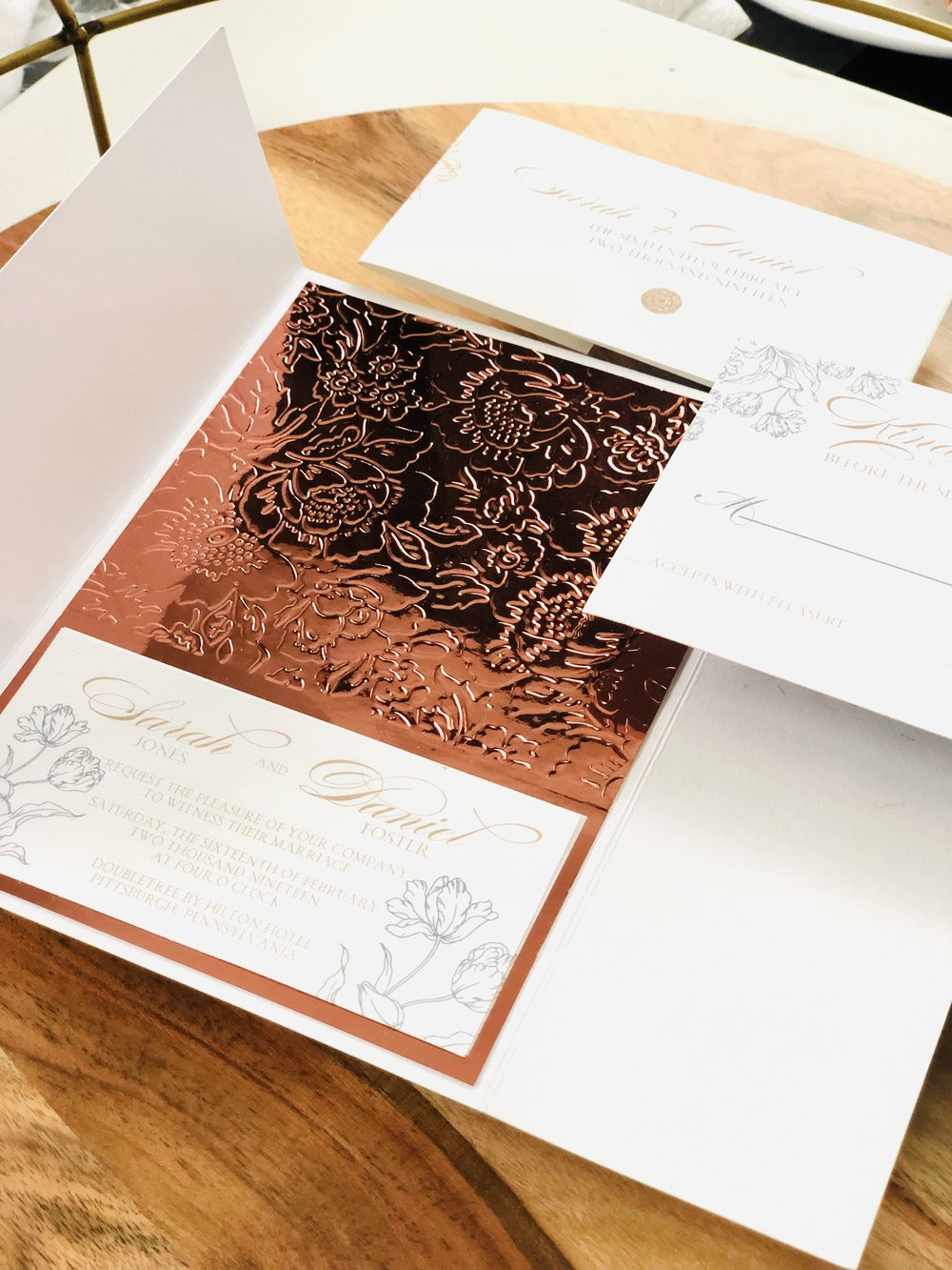 rose-gold-floral-pocket-invitation-by-k-flowers-designs