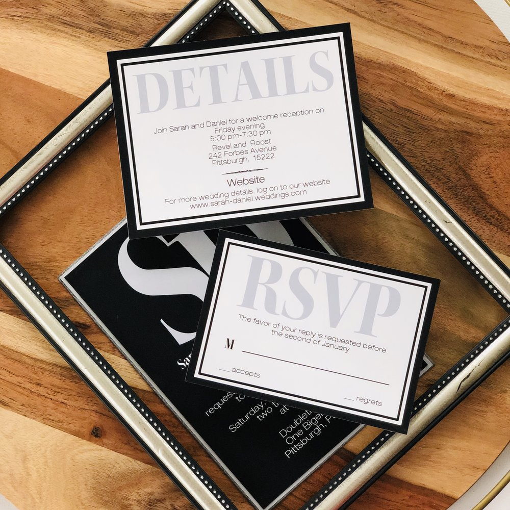 Modern-Bold-Black-Wedding-Invitation-by-K-Flowers-Designs3