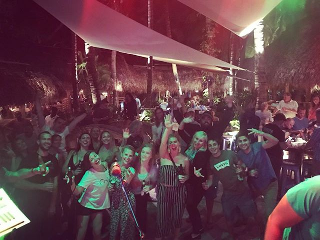 Jupiter came to party on a Wednesday! Good start to this week's shows in Florida! @guanabanasrestaurant @rootsmusicinc