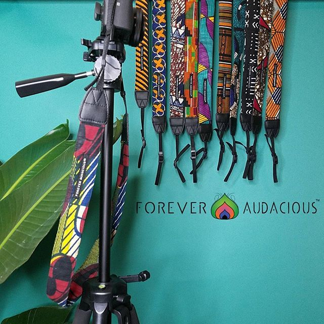 THE GANG's  ALL HERE & WAITING TO BE SNATCHED  GRAB 'EM UP  tomorrow at  AFRO BEAT FEST @newark_social . TOMORROW @  @MILITARYPARKNWK 10AM-9PM Newark NJ. SEE YA THERE 🌍🤗 FIND US UNDER THE #VERYBLACK TENT  SHOOT YOUR SHOT  Handcrafted African Print Camera Straps 📸 by @foreveraudacious . TAG A PHOTOGRAPHER & VISIT www.foreveraudacious.com . . #foreveraudacious  #creatress #craftqueen #culture #photography #art #ankarafashion #allthingsankara  #style #photooftheday #newarksocial  #explore #adventure  #blackownedbusiness #primeshot #shoottokill #canon #sony #nikon #fuji #wearableart #photography #photoshoot  #boutiqueshopping #womeninbusiness  #shoplocal #handmade #slayallday #supplyanddesign #shop