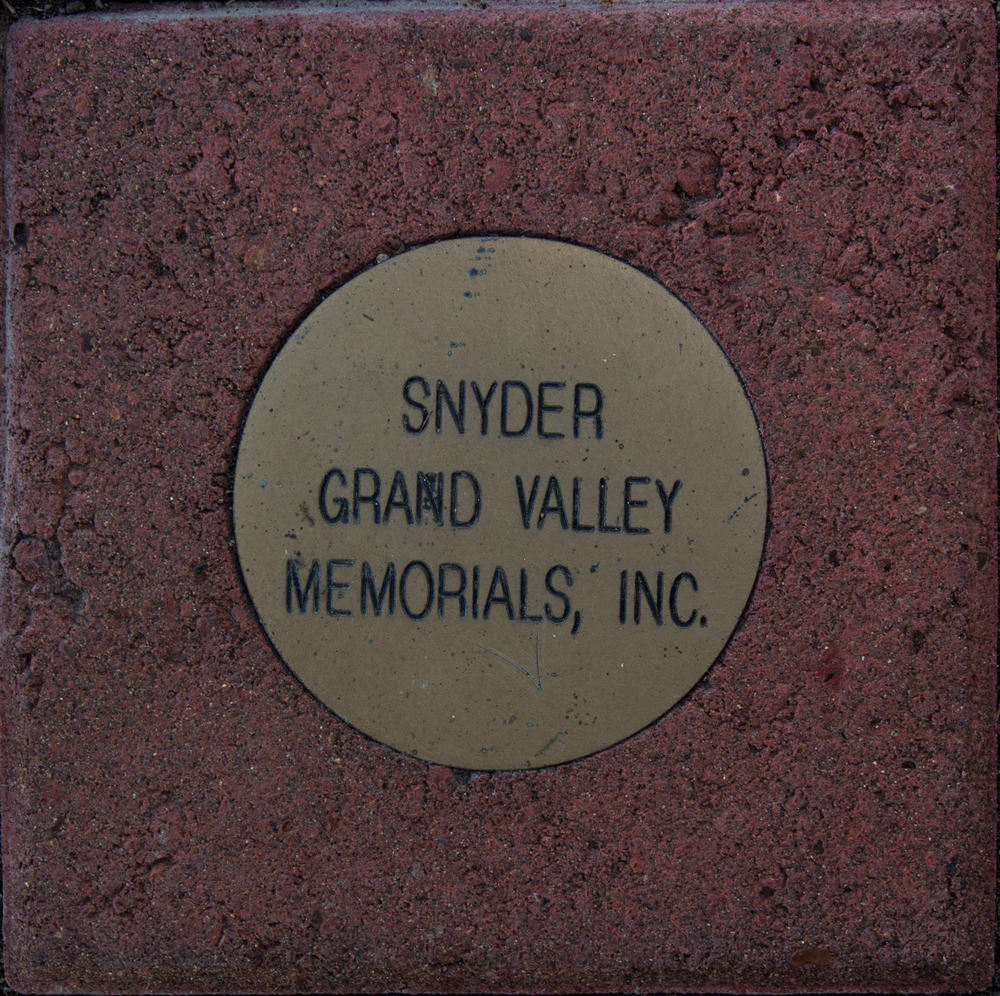 Example of Corporate Brick For:  Walk of Honor