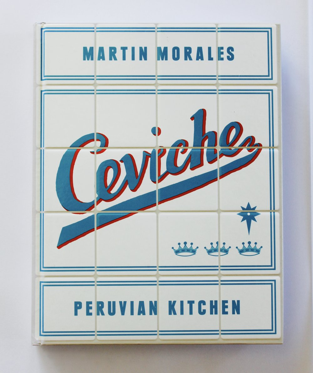 Ceviche,  Martin Morales, W&N, design by Here Design