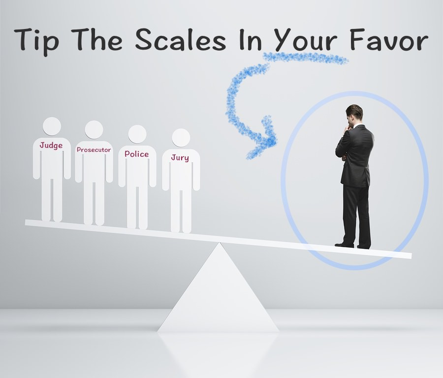 lawyer tipping scales