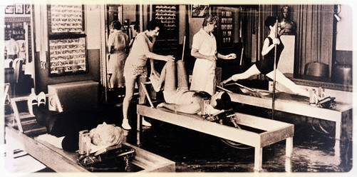 Joe Pilates' original NYC studio