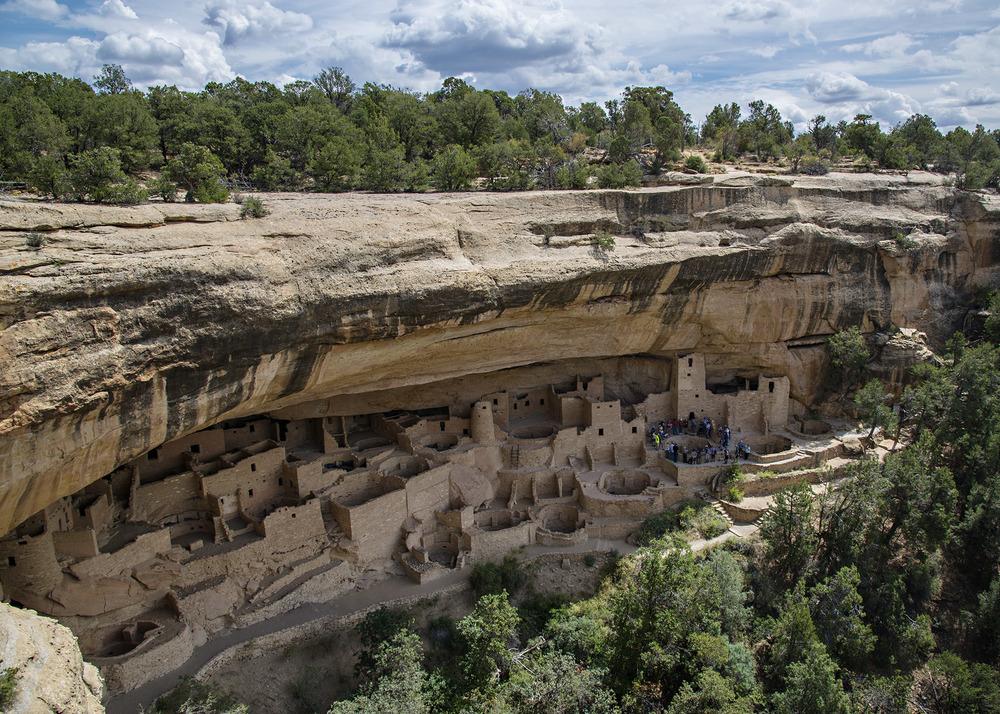 Canyon Palace at Mesa Verde National Park. Nikon D800, 24-120mm lens at 24mm, iso 100, f8, 1/200th sec.