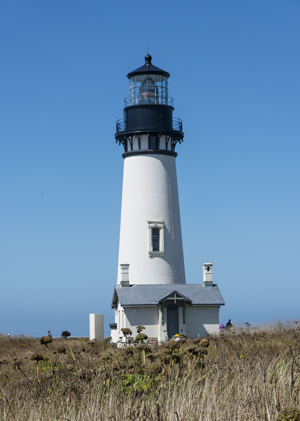 Yacquina Lighthouse. Nikon D800 Nikkor 24-120mm lens @ 86mm, f11, ISO 160, 1/400 sec.