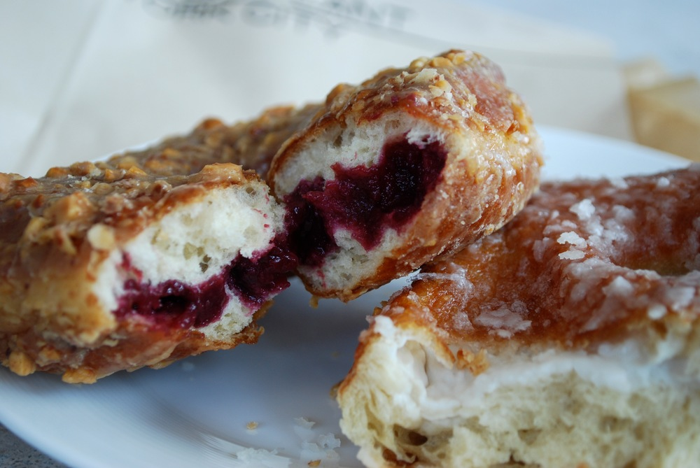 PB&J and Coconut Cream Yeast Doughnuts from Doughnut Plant, New York