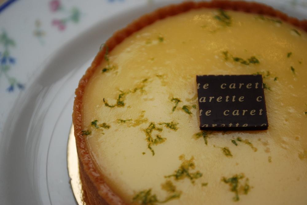 Tarte au Citron from Café Carette, Paris