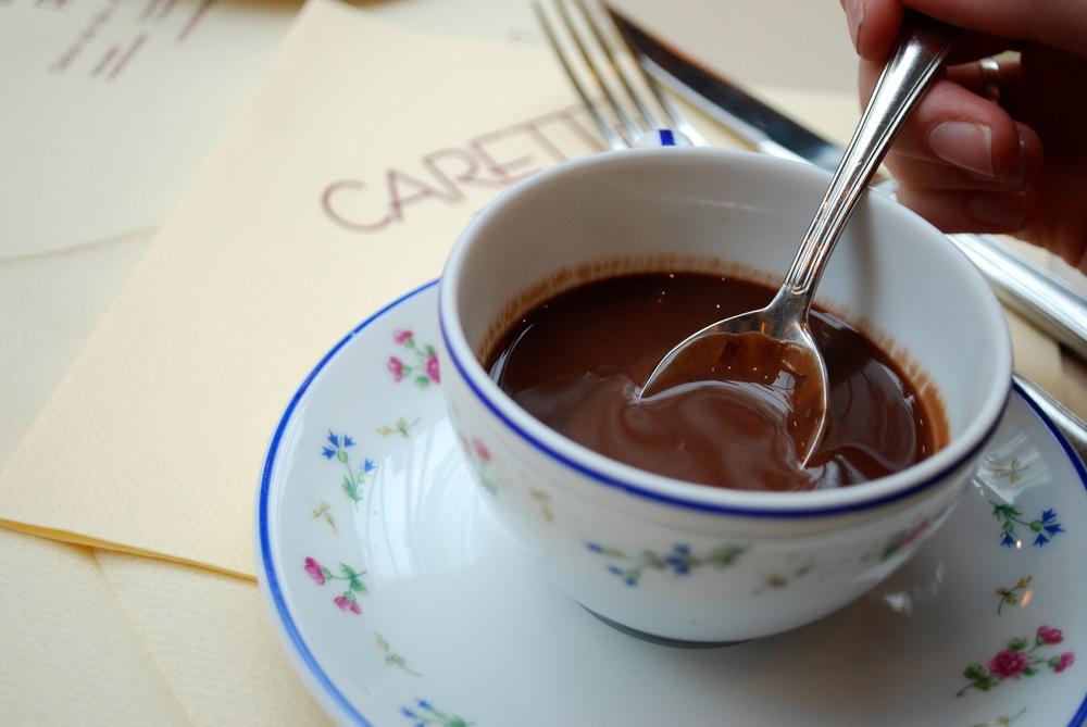 Chocolat Chaud from Café Carette, Paris