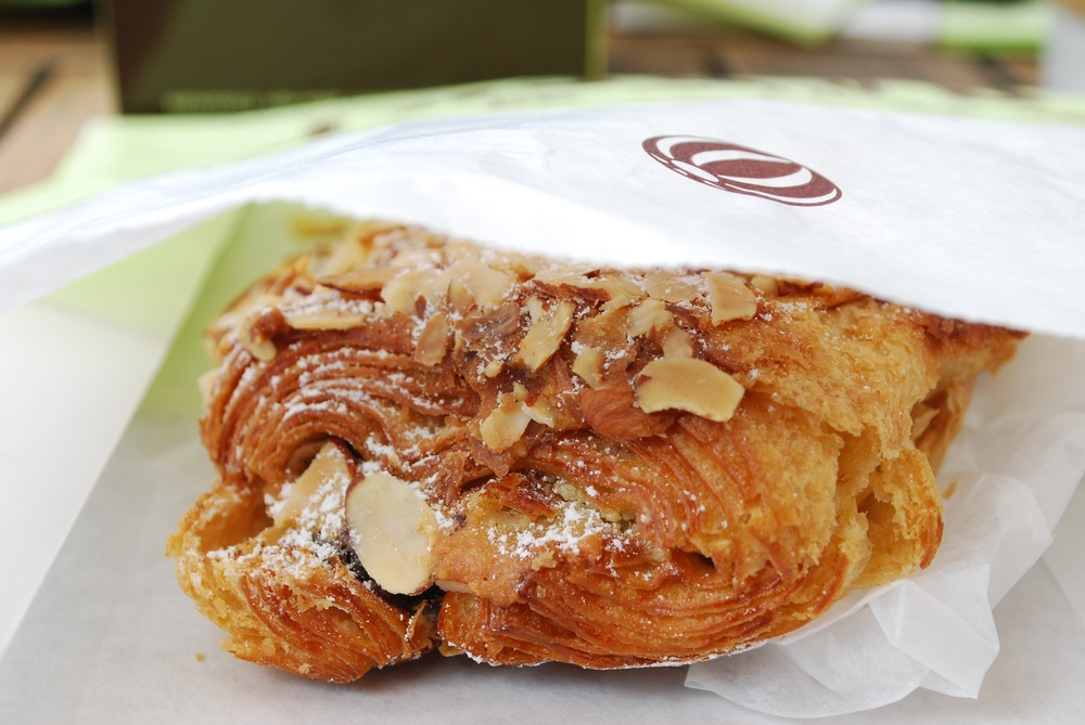 Chocolate Almond Croissant Beauty Shot - because it was just that good...