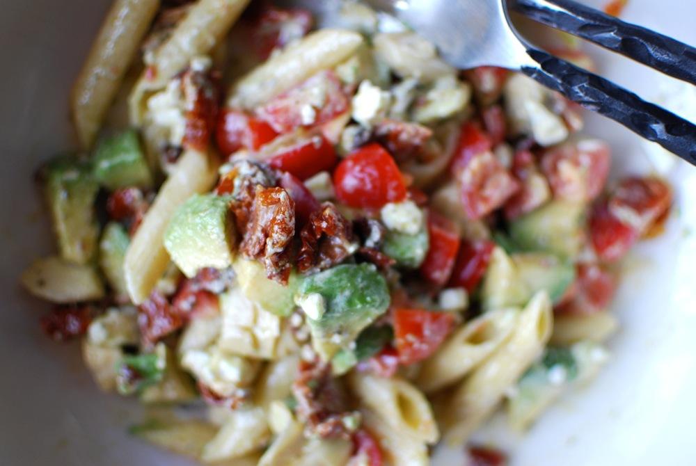 Mum's Mouthwatering Mediterranean Pasta Salad