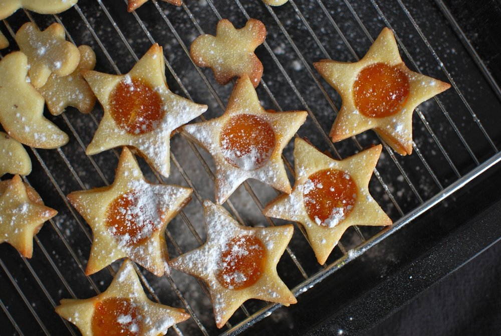 Homemade Marmalade Sandwich Biscuits