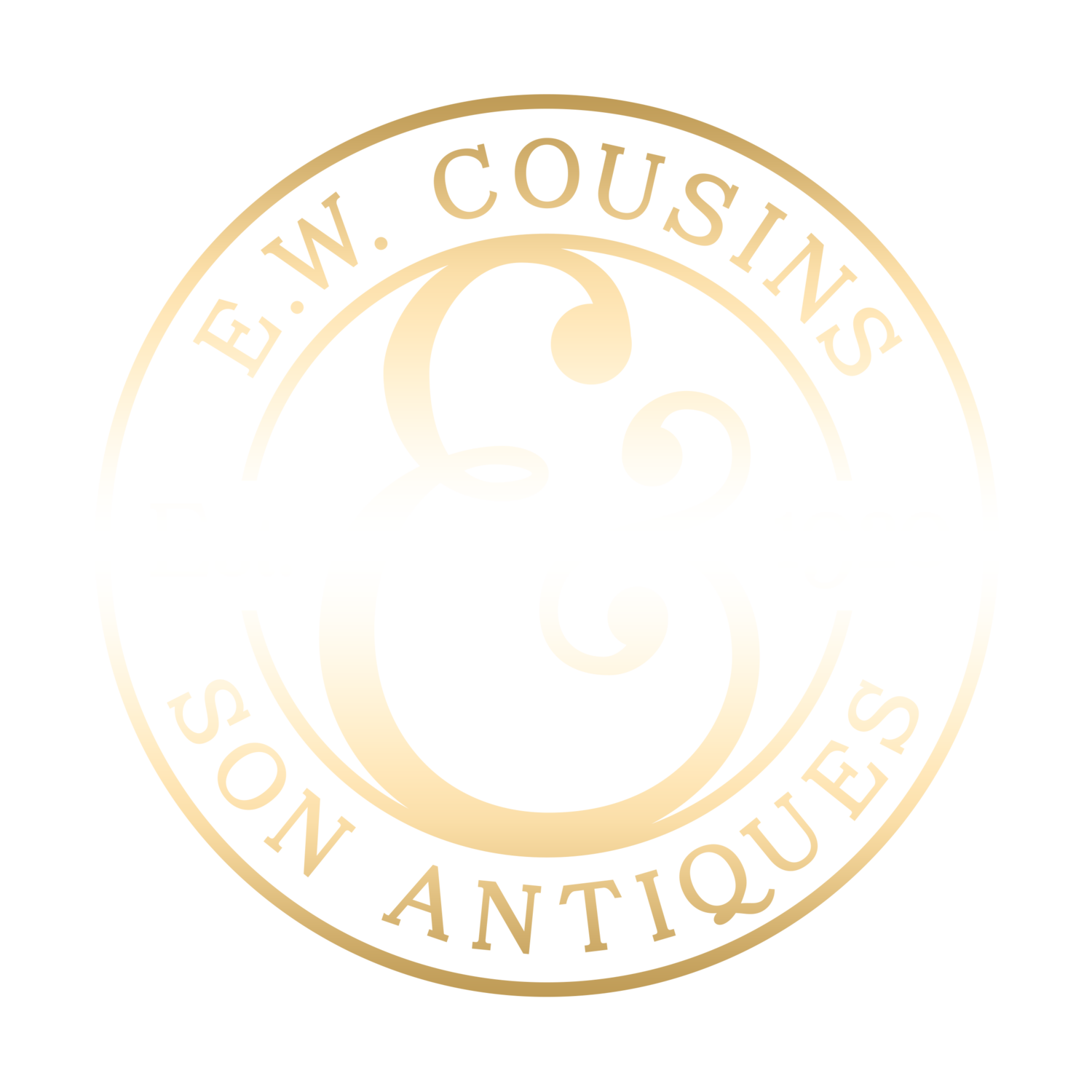 E. W. Cousins & Son. Antique furniture from Early 18C Oak to Edwardian Sheraton. Ixworth, Bury St. Edmunds, Suffolk