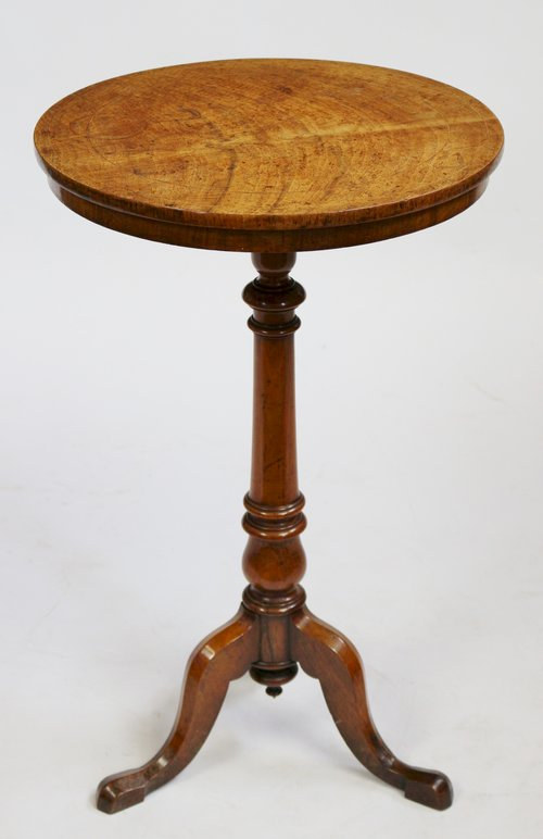 Victorian maple circular pedestal lamp table mozeypictures Images