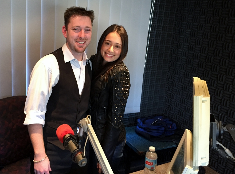 Scott and Mys T at the Hawksbury Radio Booth