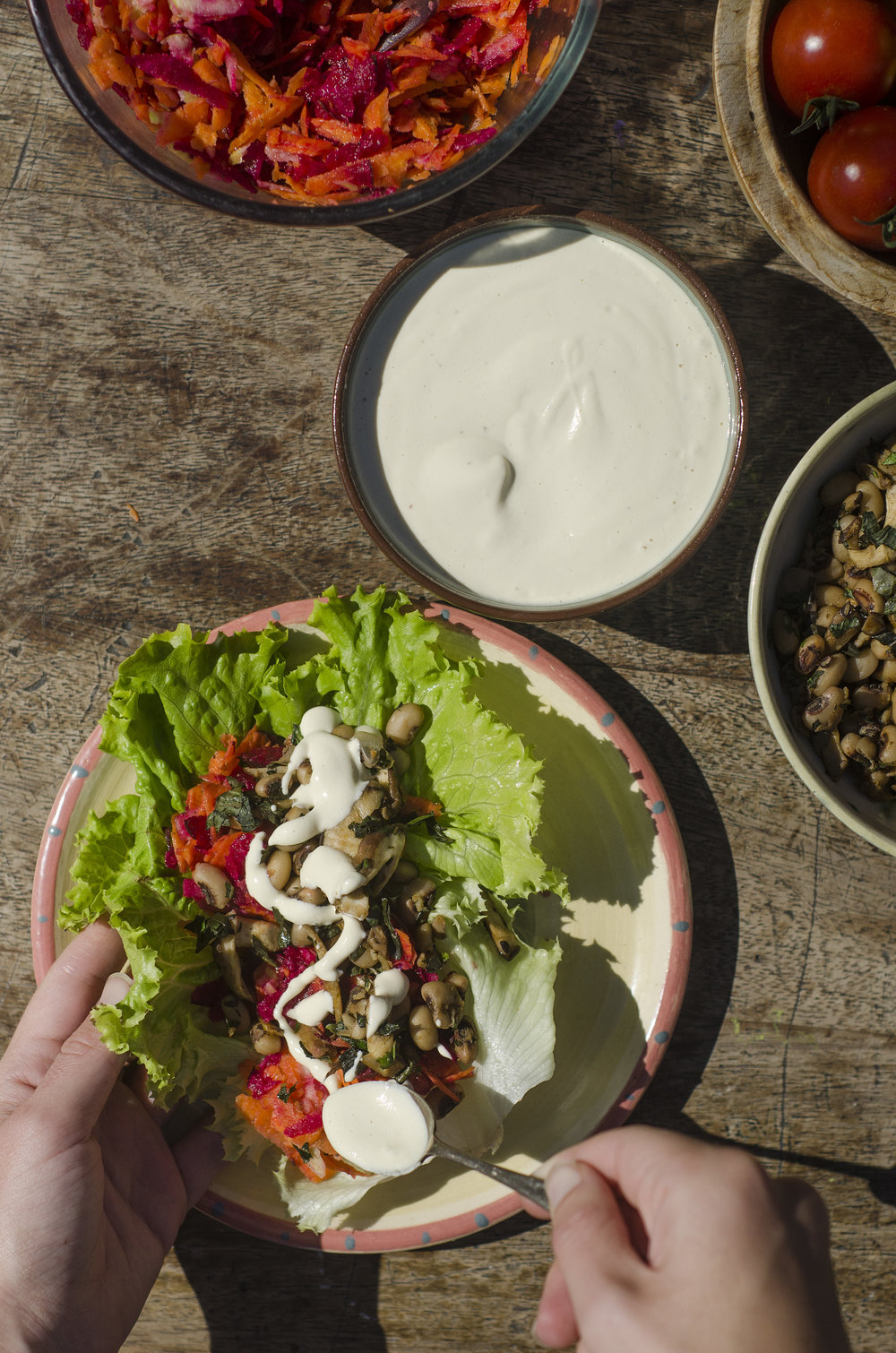 Cashew Cream Dressing