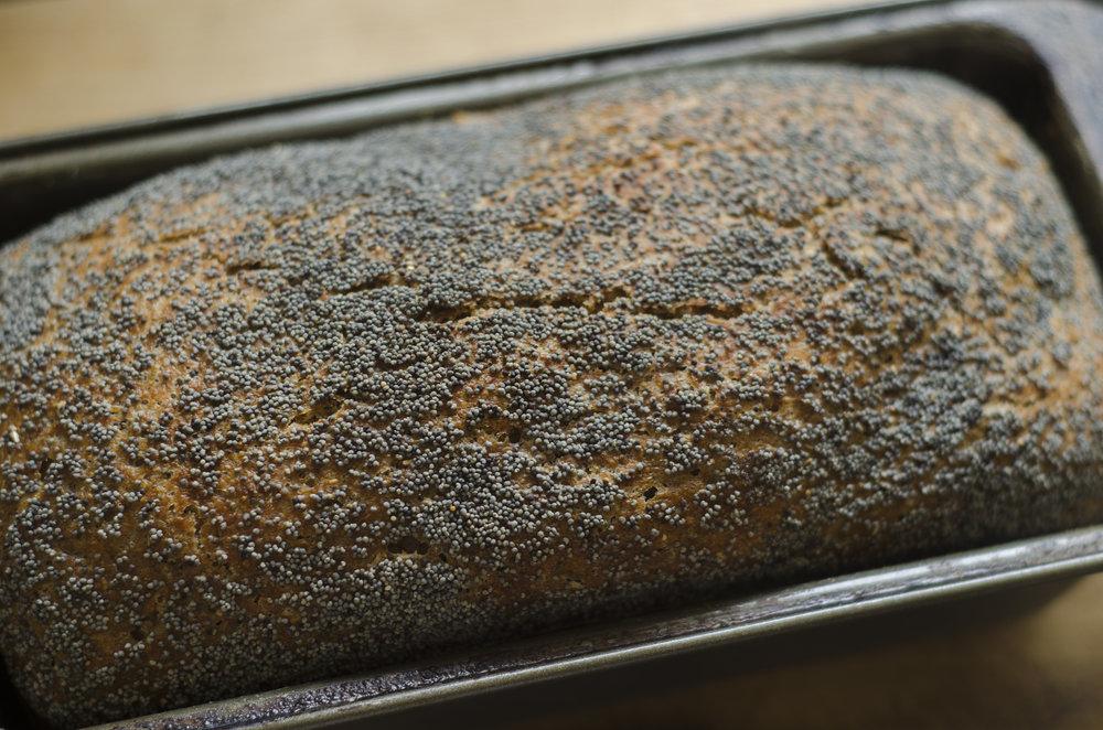 Overnight Sourdough Spelt Bread