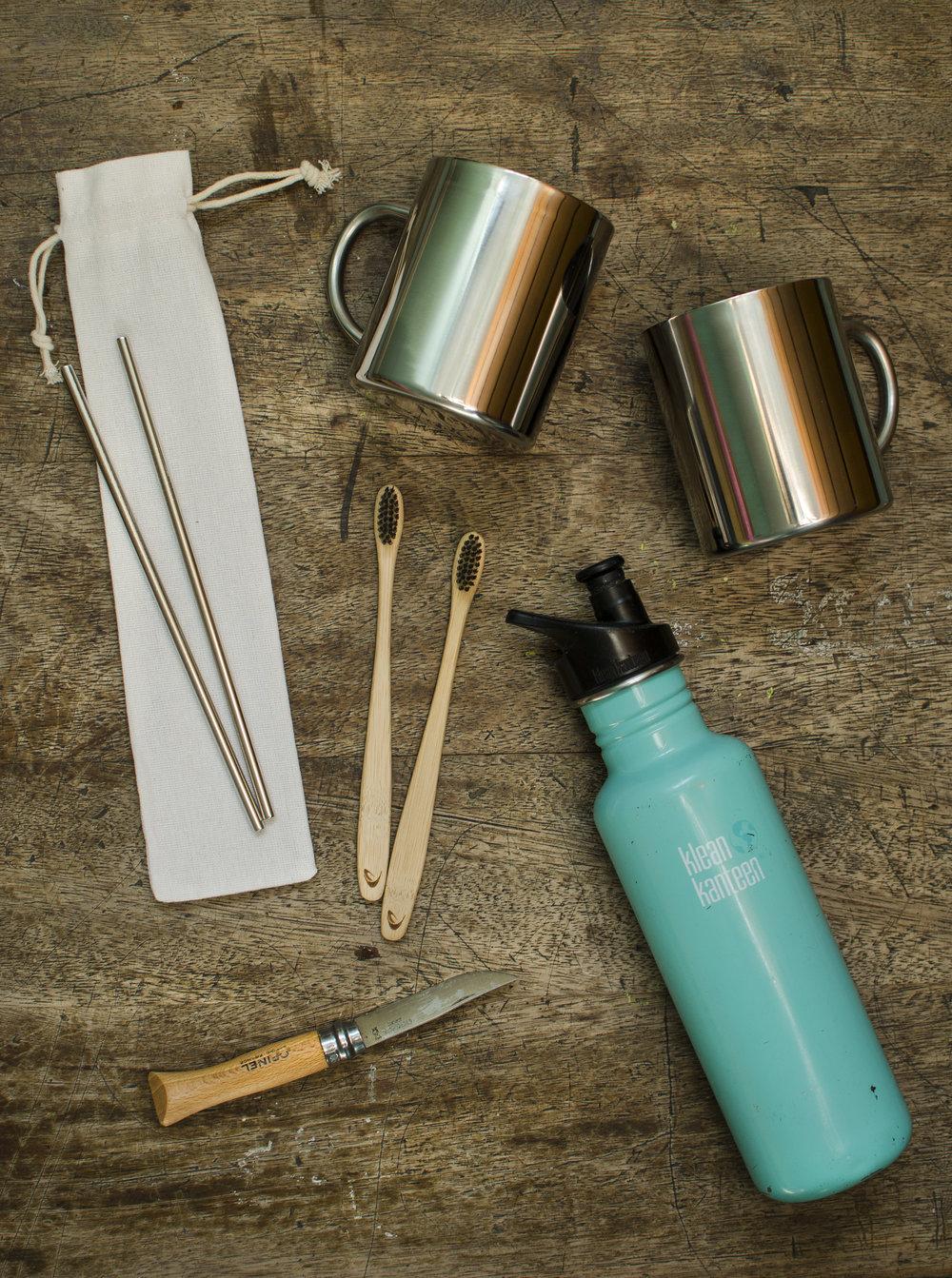 Travel Essentials Sustainable Zero Waste