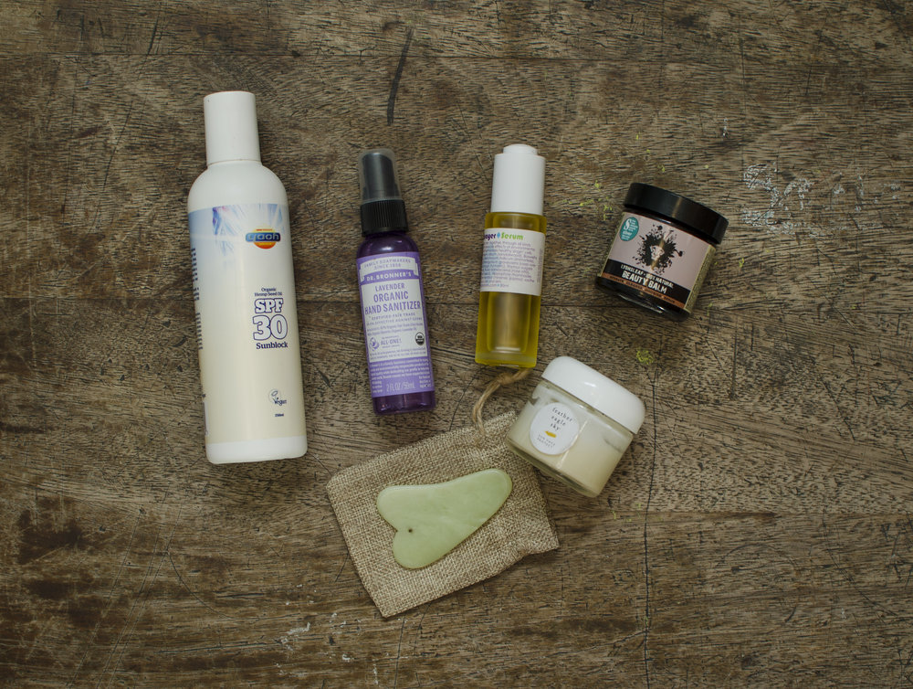 Travel Essentials Natural Toiletries