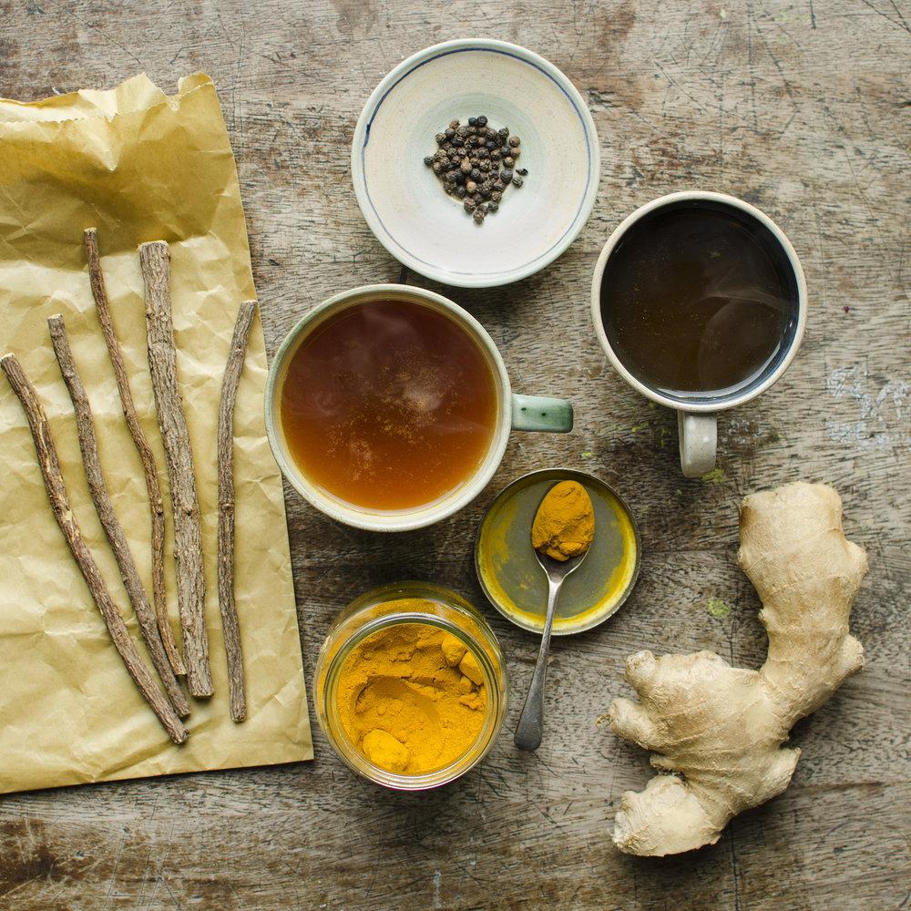 Liquorice Turmeric Ginger Tea