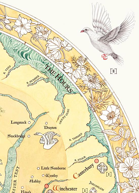 Mappa Mottisfont (detail),  2014, digital print