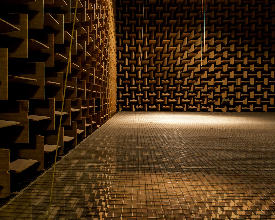 The Audio Chambers Of Dtu Denmark Alastair Philip Wiper