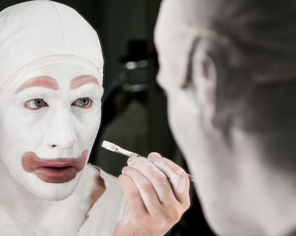 Pierrot At Tivoli Denmark Alastair Philip Wiper