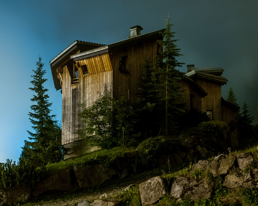 Chalet L'Ours II (1998), designed by Jacques Labro, Avoriaz, France