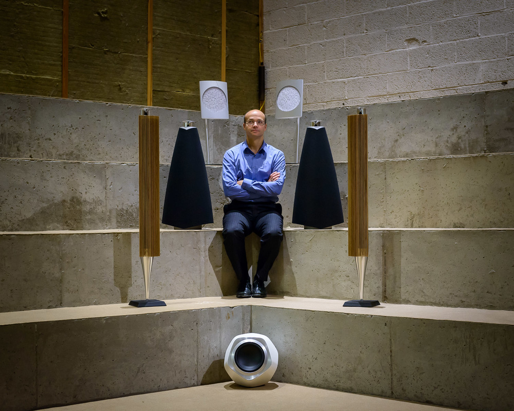Geoff Martin, Tonmeister at Bang & Olufsen, Denmark