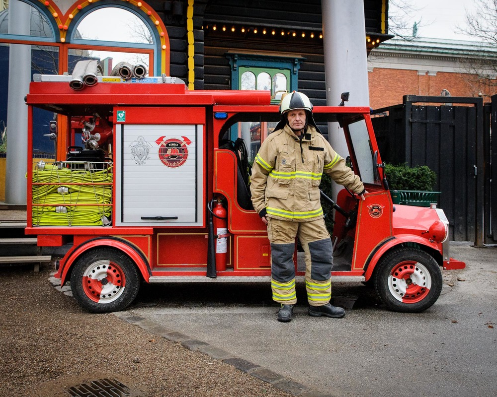 The smallest fire station in Denmark, Tivoli Gardens