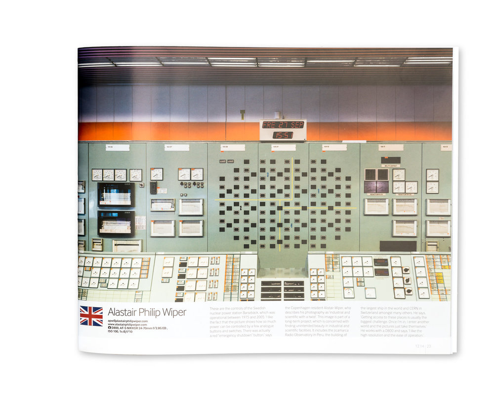 Nikon Pro Magazine Winter 2014/15: Barsebäck Nuclear Power Station