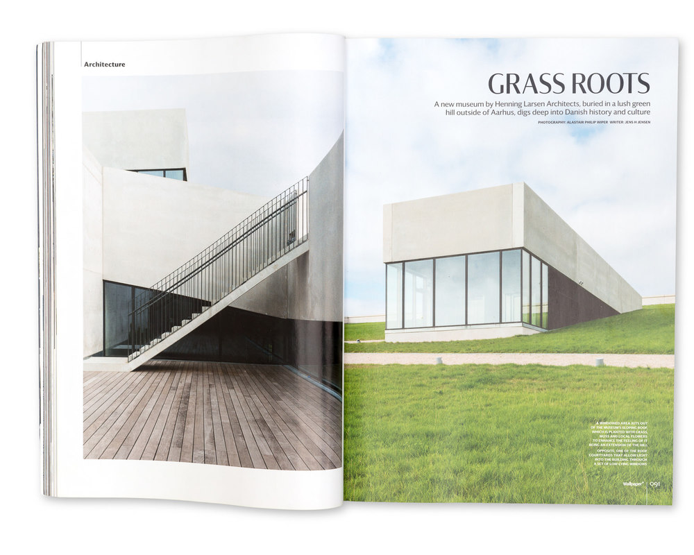 Wallpaper* Magazine, November 2014: Moesgaard Museum, Aarhus