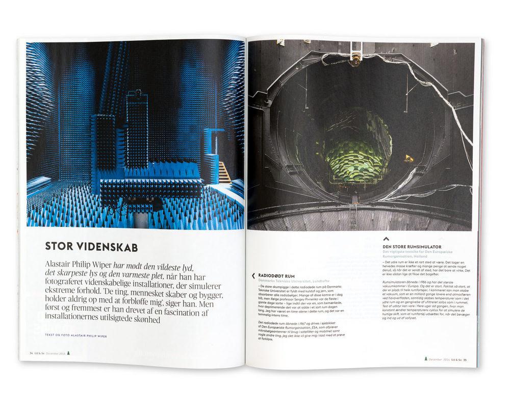 Ud & Se Magazine, Denmark, December 2014