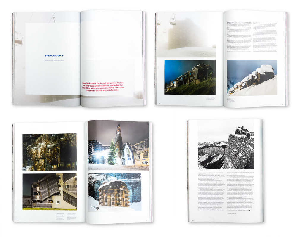 Blueprint magazine, February 2014: Avoriaz
