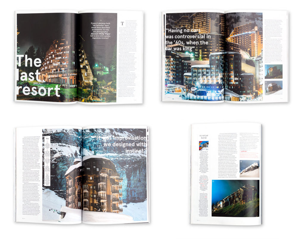 N by Norwegian magazine, March 2014: Avoriaz