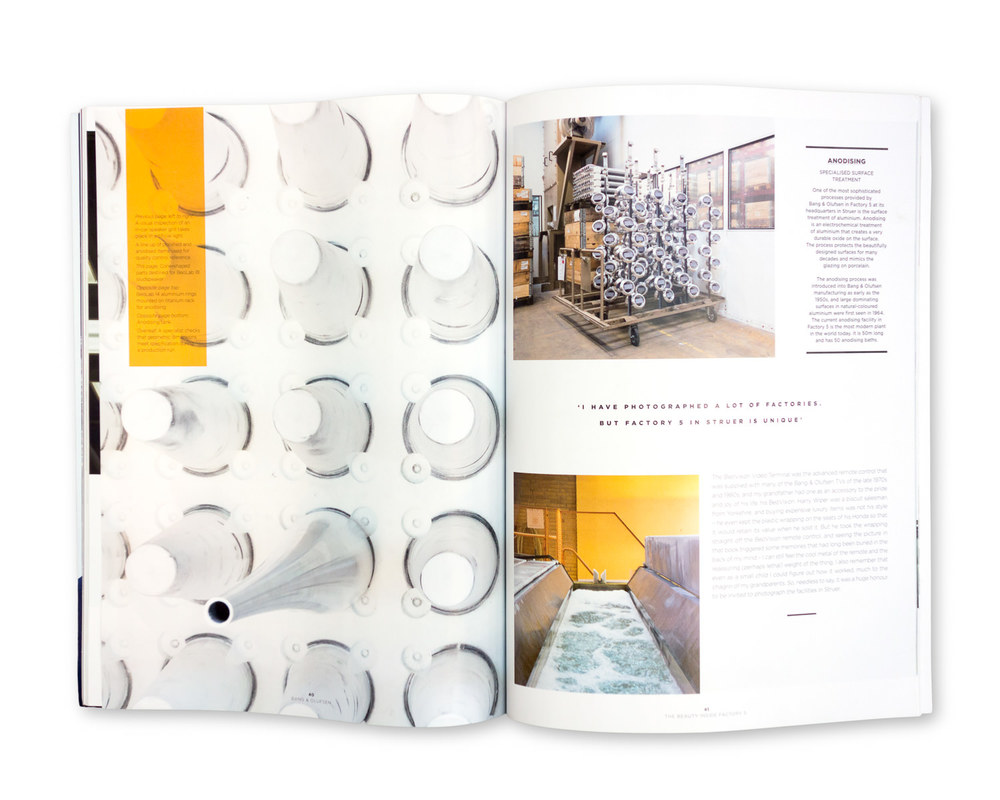 Bang & Olufsen Magazine, Winter 2014/15: Inside the Aluminium Factory